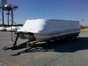 Bennington 25′ QXi Boat Import