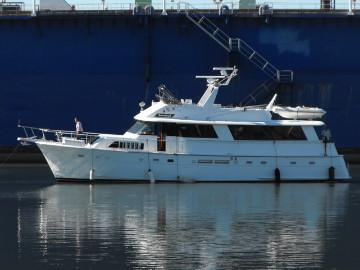 Hatteras Motor Yacht 63′ + 7′ Euro Extension Import