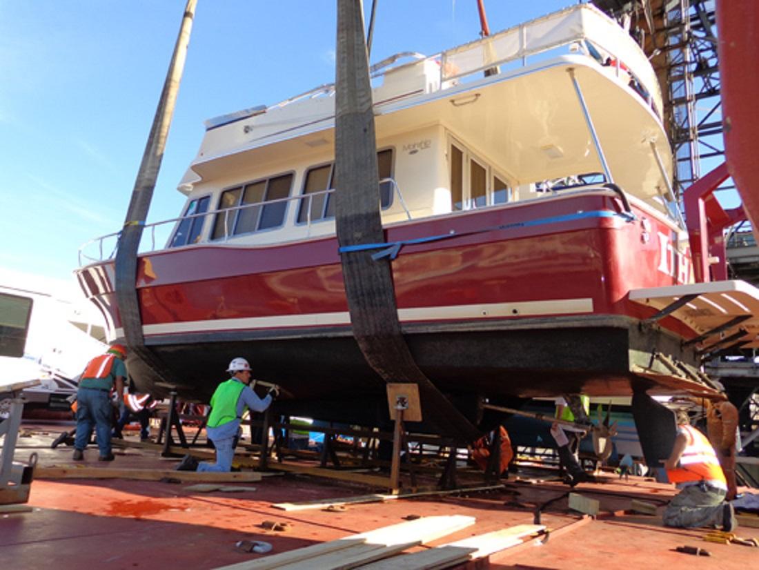 Mainship 40 Trawler Boat Import