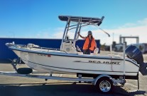 Import a Boat to Australia – Sea Hunt 186 CC Sport Fishing Trailer Boat