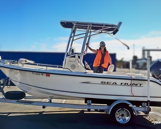 Import a Boat to Australia – Sea Hunt 186 CC Sport Fishing Trailer Boat