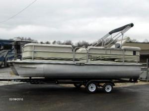 Voyager Express Pontoon Boat Import