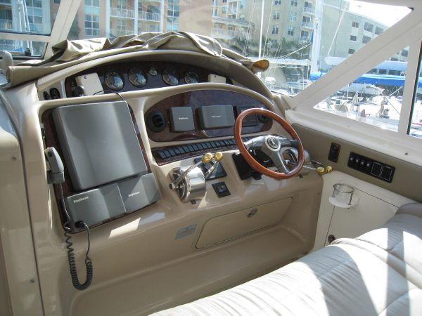sea ray 480 console